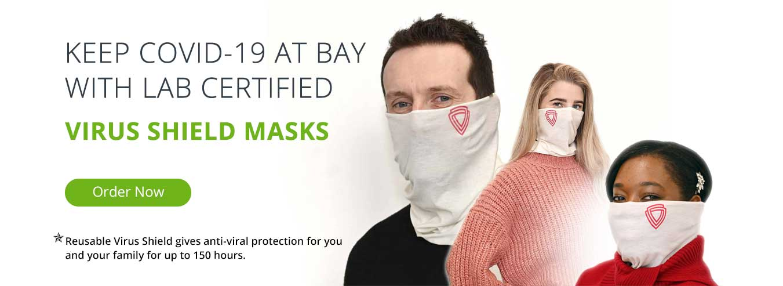 virus shield - face mask