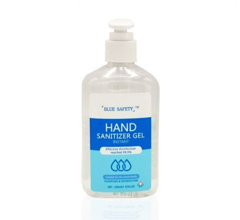 250ml Hand Sanitiser with Pump