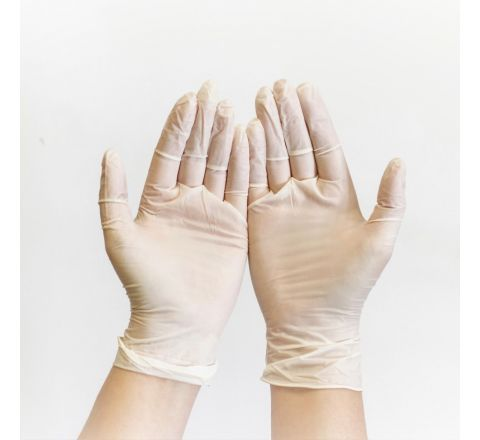 Premium Powder Free Clear Vinyl Gloves