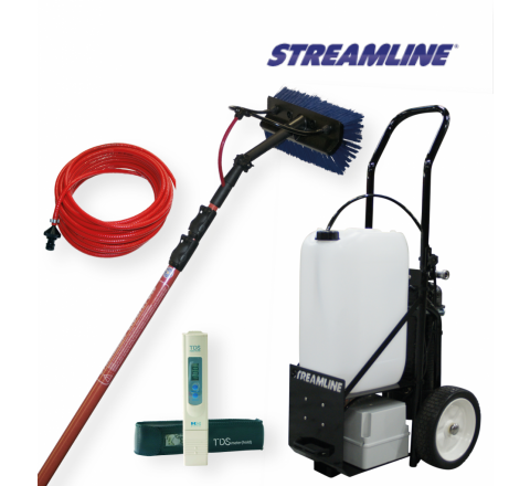 Streamflo 25ltr Trolley Package Window Cleaning