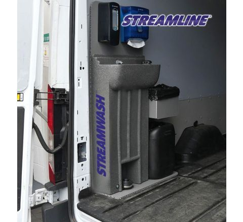 Streamwash 45 – Hand sanitiser unit