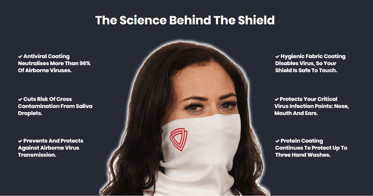 antiviral face masks in ireland